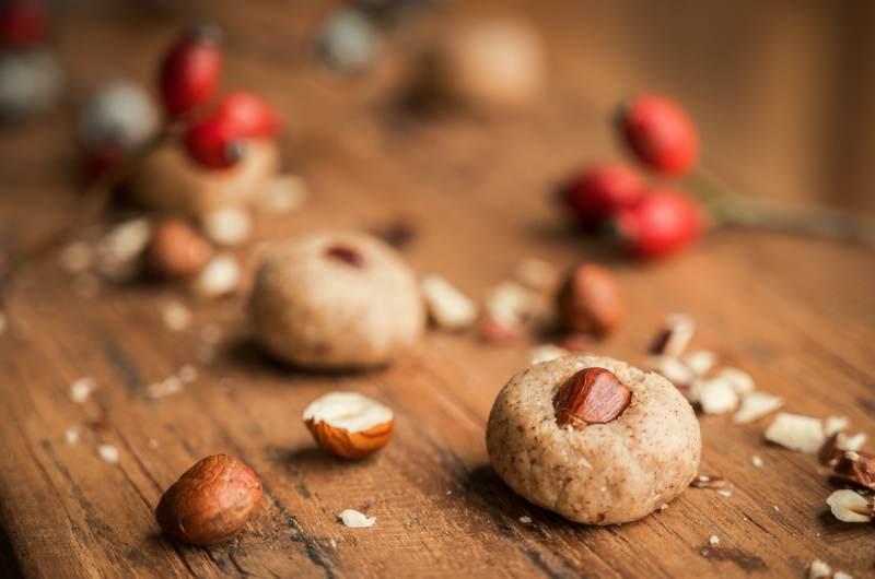 Salted Hazelnut Cookies