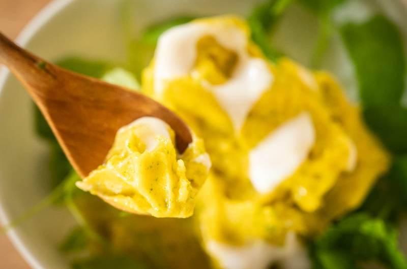 Mango ice cream (raw sorbet)